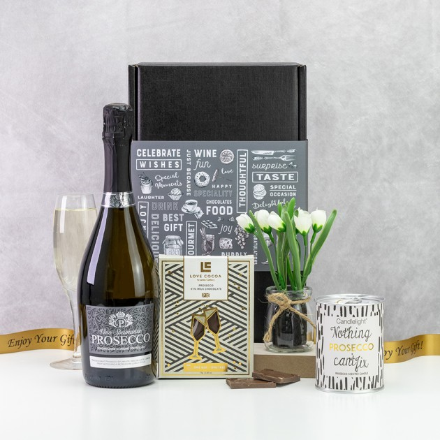 Hampers and Gifts to the UK - Send the Nothing Prosecco Can't Fix Gift Box