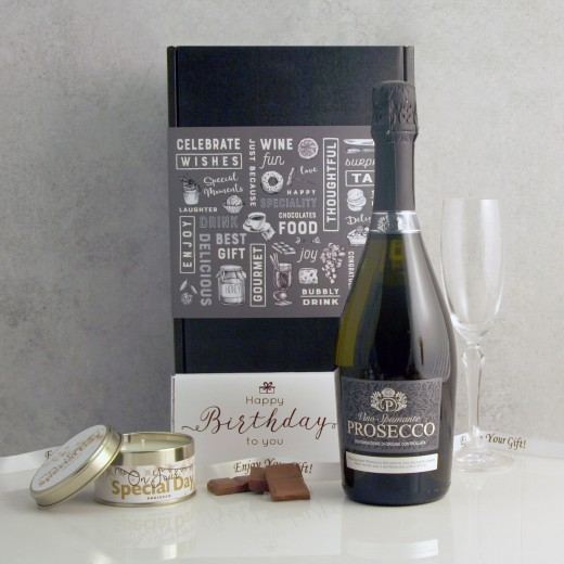 Hampers and Gifts to the UK - Send the Birthday Wishes and Bubbles