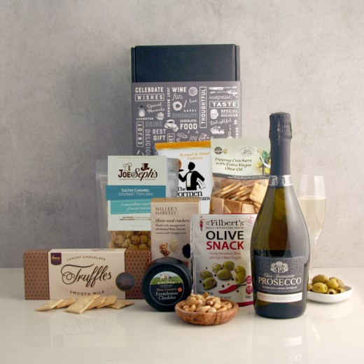 Hampers and Gifts to the UK - Send the Prosecco and Gourmet Delights Hamper