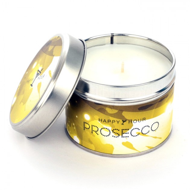 Hampers and Gifts to the UK - Send the Pintail Candles - Prosecco Happy Hour