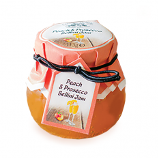 Hampers and Gifts to the UK - Send the Cottage Delight Peach and Prosecco Bellini Preserve