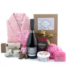 Hampers and Gifts to the UK - Send the With Love Truffles and Bubbles Pamper Hamper