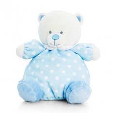 Hampers and Gifts to the UK - Send the Baby Blue Puffball Bear