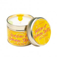 Hampers and Gifts to the UK - Send the Bomb Cosmetics Candle - Queen of Lemon Tarts