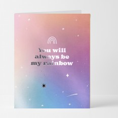 Hampers and Gifts to the UK - Send the You Will Always Be My Rainbow Card