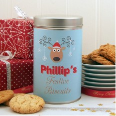 Hampers and Gifts to the UK - Send the Christmas Cookies Festive Reindeer