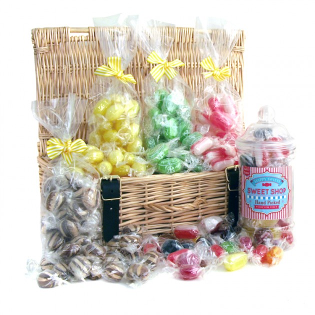 Hampers and Gifts to the UK - Send the Luxury Sweet Shop Hamper - Hard Boiled Sweet Selection