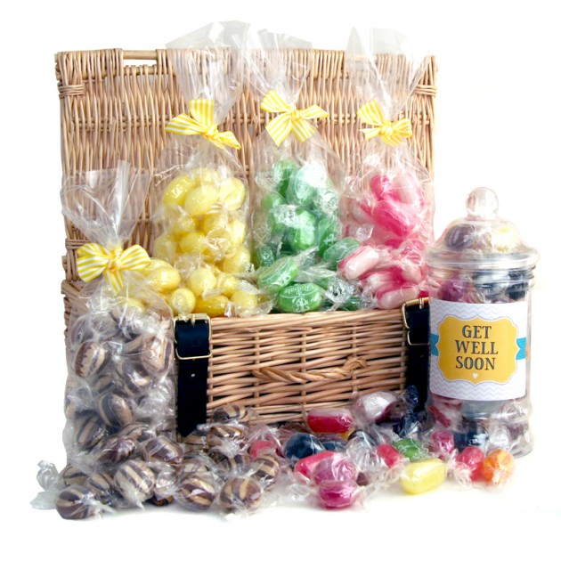 Hampers and Gifts to the UK - Send the Get Well Soon Luxury Sweet Hamper