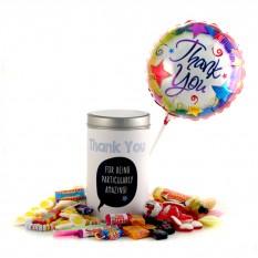 Retro Sweets Gift Tin Thank You