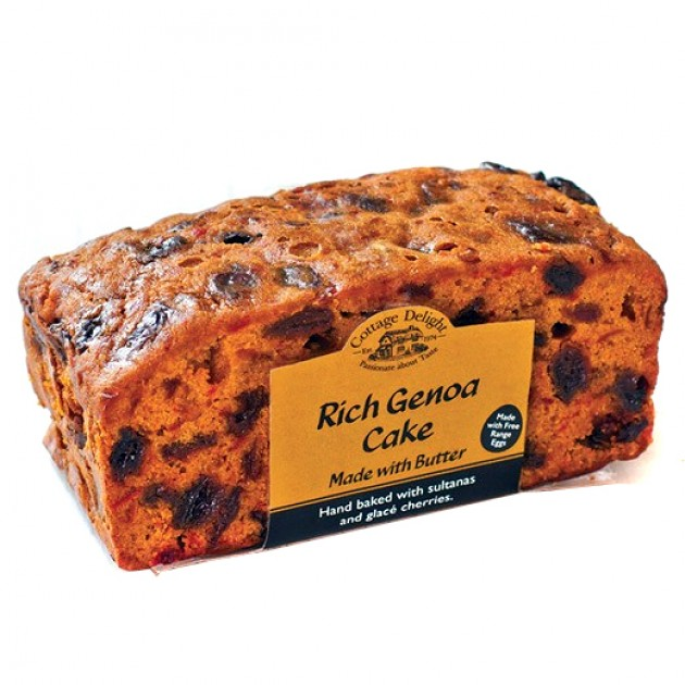 Hampers and Gifts to the UK - Send the Cottage Delight Rich Genoa Cake