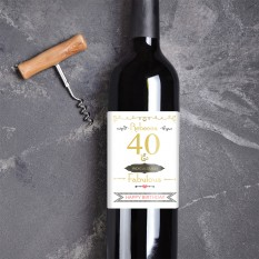 Hampers and Gifts to the UK - Send the Personalised Ridiculously Fabulous Wine Gift