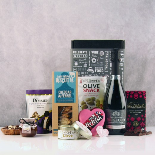 Hampers and Gifts to the UK - Send the Celebration Cheese Lover Hamper