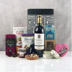 Hampers and Gifts to the UK - Send the Wine and Cheese Lover Hamper