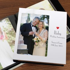 Hampers and Gifts to the UK - Send the Ruby Anniversary Photo Album