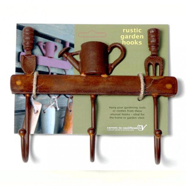 Hampers and Gifts to the UK - Send the Rustic Garden Hooks
