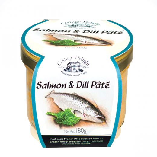 Hampers and Gifts to the UK - Send the Cottage Delight Salmon and Dill Pate