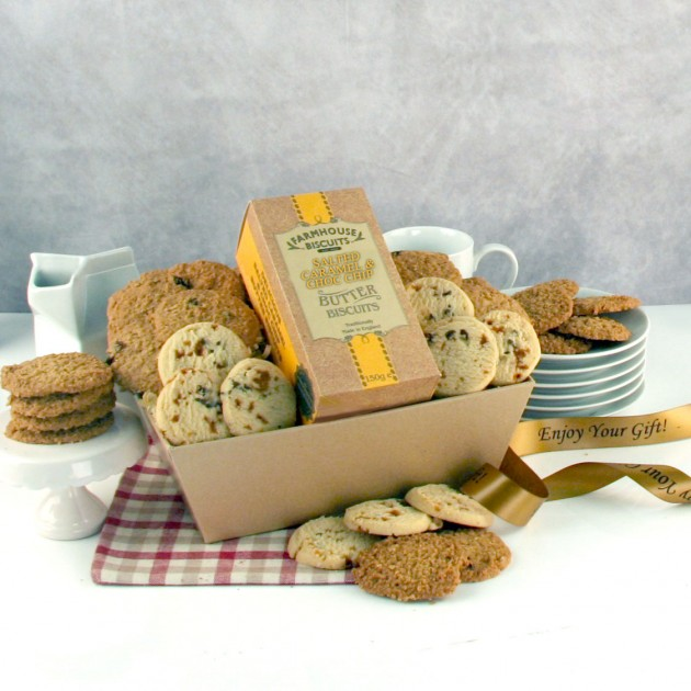 Hampers and Gifts to the UK - Send the Salted Caramel Crunch Tray
