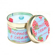 Hampers and Gifts to the UK - Send the Bomb Cosmetics Candle - Scones and Cream