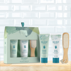 Hampers and Gifts to the UK - Send the Sea Kelp Footcare Pamper Kit