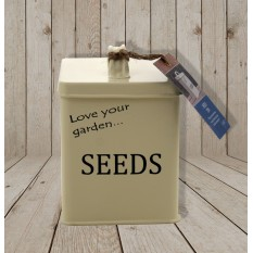 Hampers and Gifts to the UK - Send the Alan Titchmarsh Gardener's Seed Tin