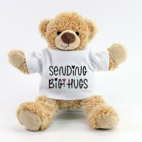 Sending Big Hugs Teddy +£12.95