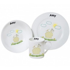 Hampers and Gifts to the UK - Send the Personalised Breakfast Set - Moo