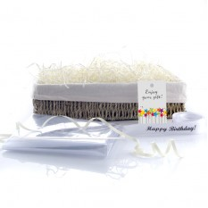 Hampers and Gifts to the UK - Send the Wicker Basket - Lined Seagrass Standard