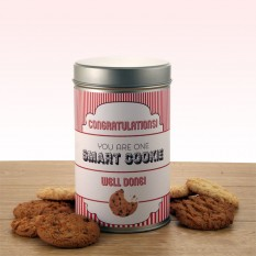 Gift In A Tin - Congratulations Smart Cookie