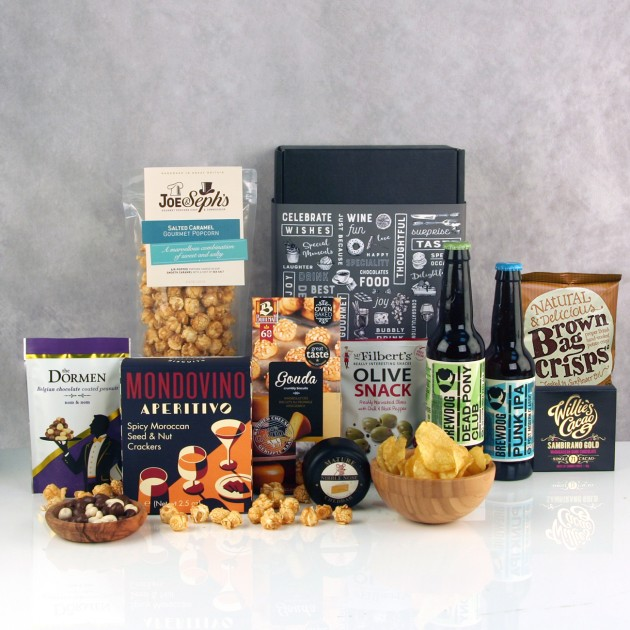 Hampers and Gifts to the UK - Send the Snack Attack Beer Hamper