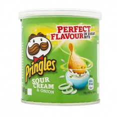 Hampers and Gifts to the UK - Send the Pringles - Sour Cream and Chives - 40g