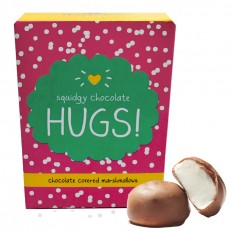 Hampers and Gifts to the UK - Send the * OUT OF STOCK * - Squidgy Chocolate Hugs