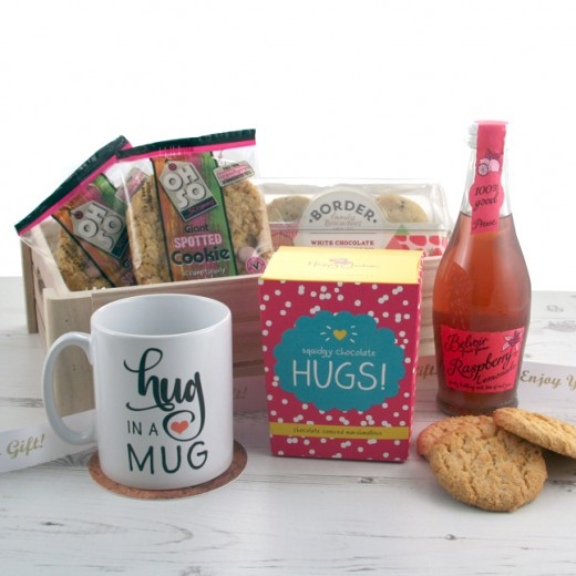 Hampers and Gifts to the UK - Send the Squidgy Chocolate Hugs Hamper