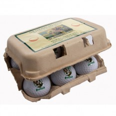 Hampers and Gifts to the UK - Send the Golfers Breakfast Egg Carton