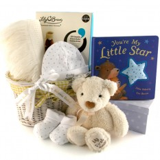 Hampers and Gifts to the UK - Send the A Star is Born Baby Gift Hamper