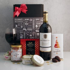 Hampers and Gifts to the UK - Send the Starry Night Christmas Hamper