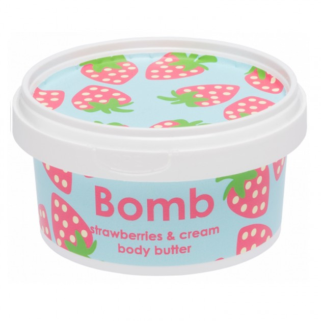 Hampers and Gifts to the UK - Send the Body Butter - Strawberries and Cream