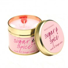 Hampers and Gifts to the UK - Send the Bomb Cosmetics Candle - Sugar Spice