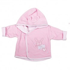 Hampers and Gifts to the UK - Send the Newborn Baby Girl Sweet Dreams Jacket