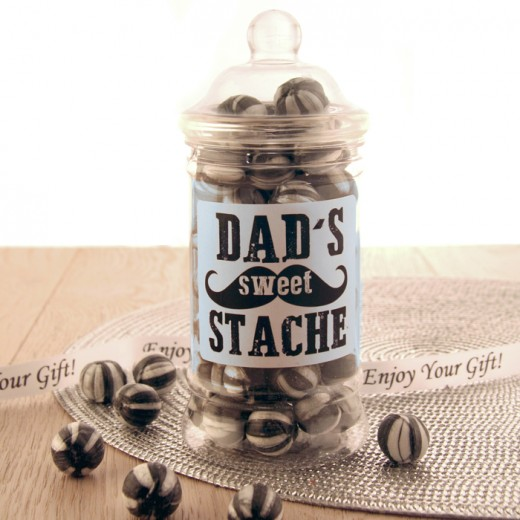 Hampers and Gifts to the UK - Send the Dad's Secret Stache of Sweets