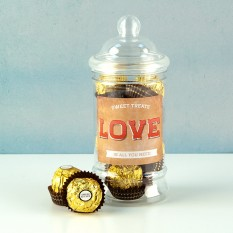Hampers and Gifts to the UK - Send the LOVE Ferrero Rocher Sweet Treats