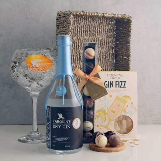Hampers and Gifts to the UK - Send the The Sweetest Gin Surprise Hamper