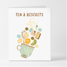 Hampers and Gifts to the UK - Send the Tea and Biscuits Card