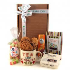 Hampers and Gifts to the UK - Send the Get Well Tea and Sympathy