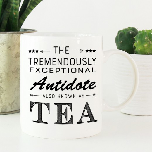 Hampers and Gifts to the UK - Send the Antidote Also Known As Tea Mug