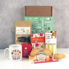 Hampers and Gifts to the UK - Send the Pick Me Up Tea & Biscuits Hamper