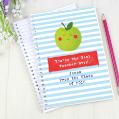 Hampers and Gifts to the UK - Send the Teachers Apple Note Book