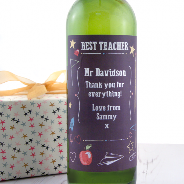 Hampers and Gifts to the UK - Send the Best Teacher Wine Gift