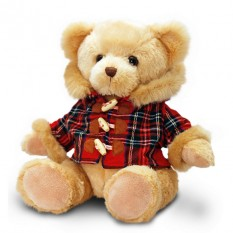 Hampers and Gifts to the UK - Send the Scottish Hamish Bear in Tartan Coat