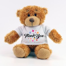 Hampers and Gifts to the UK - Send the Thank You Starburst Teddy Bear