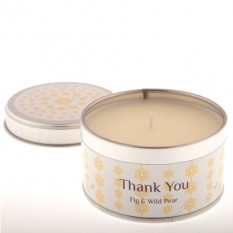 Hampers and Gifts to the UK - Send the Occasion Candle - Thank You